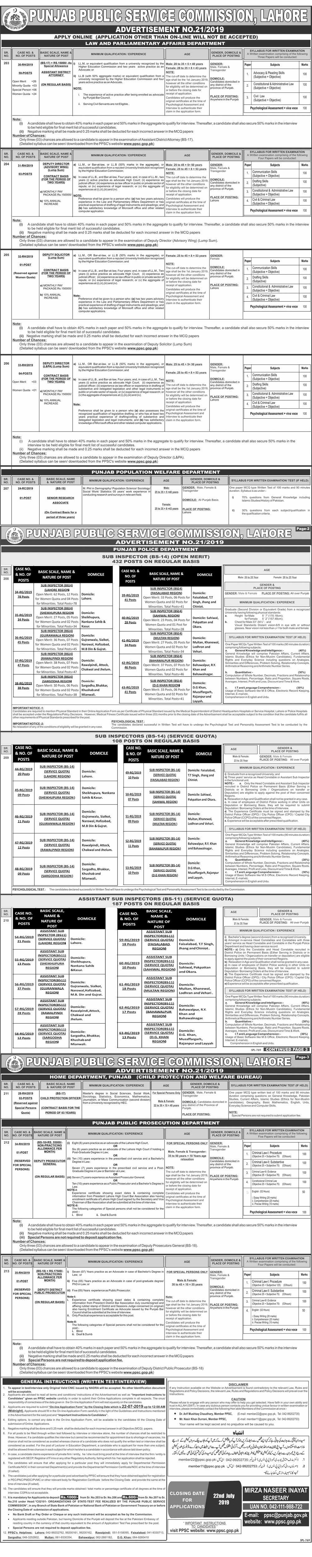 NTS Jobs In Elementary & Secondary Education Lakki Marwat Female